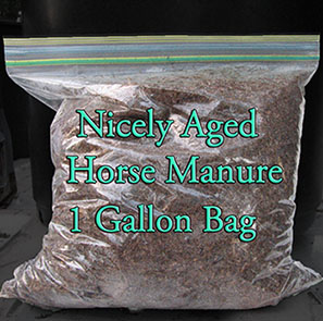 Nicely Broken Down Horse Manure