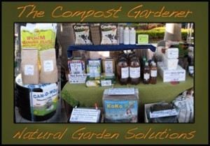Our Booth @ The Farmers' Market