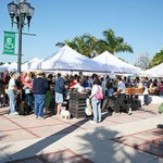 The Downtown Fort Pierce Green Market photo by Brian Gilligan