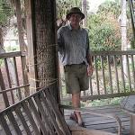 John In His Tree House