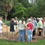 Composting Class Gathered At The Garden
