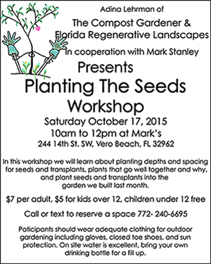 Seed Planting Workshop