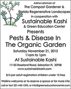 Pests & Disease In The Organic Garden